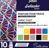 Pebeo Setacolor Opaque fabric paint Collection Case ONE - 10 x 45ml bottles NEW