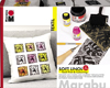 Marabu Soft Linol Print & Colouring Set NEW