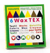 NEW okoNORM Nawaro WaxTEX fabric wax crayons - pack of 6