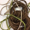 Weavecord Satin Pack - 8m brown, 2 x 1m assorted (2)